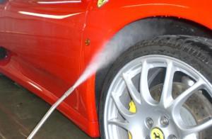 タイヤ、ホイール等足回り洗浄