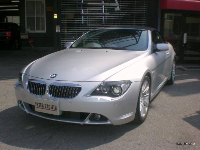 BMW 645Ci 修理塗装