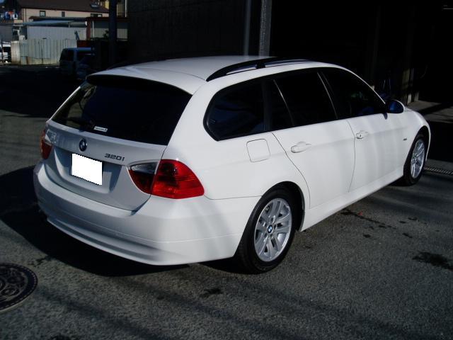 BMW 320 ツーリング 修理
