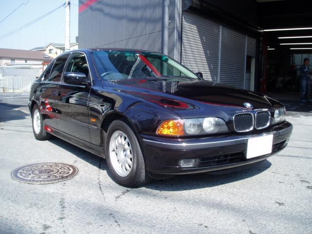 BMW 525i 修理