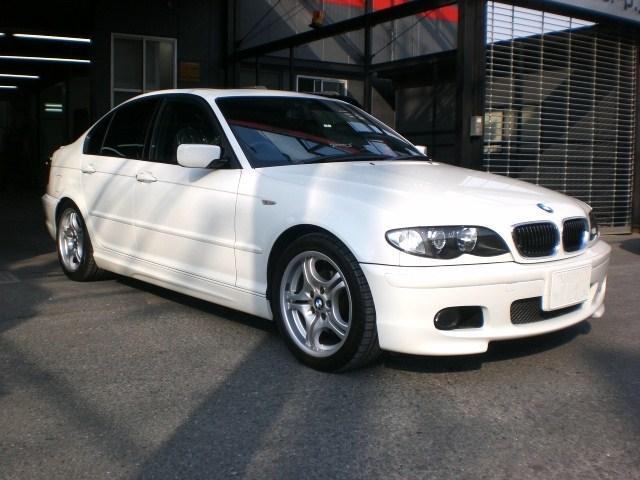 BMW 320i (E46) 板金塗装