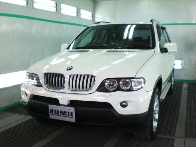 BMW X5 ボディー コーティング