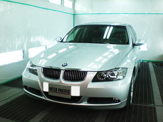 BMW 325i (E90) ボディー コーティング