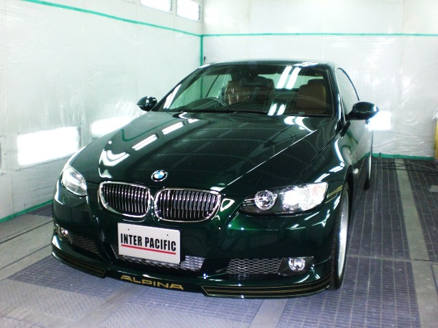 BMW アルピナ ボディーガラスコーティング施工