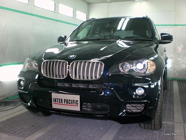 BMW X5 ボディーコーティング施工
