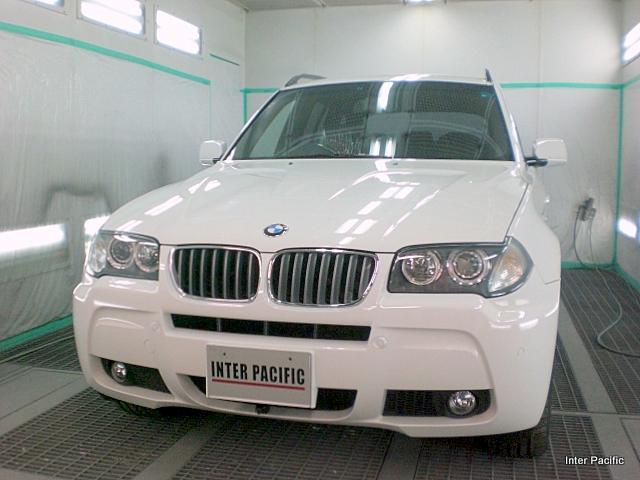 BMW X3 ボディーコーティング施工