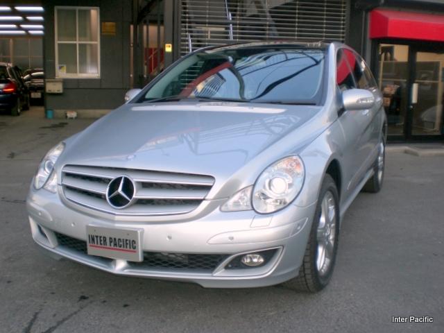 メルセデスベンツR350(BENZ)  左後側面 板金塗装