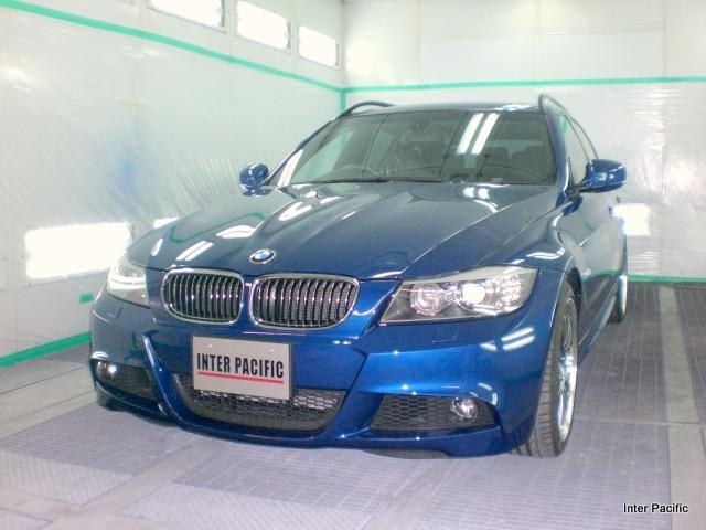 BMW 325iT 車両保険でコーティング再施工