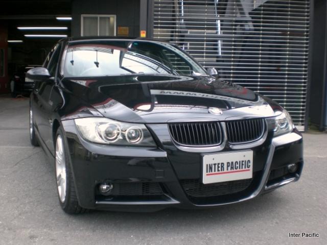 BMW 323i バンパー修理