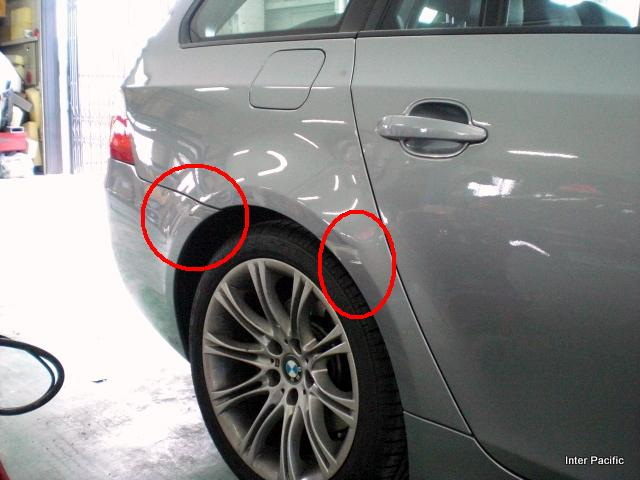 BMW 525iツーリング-20111025