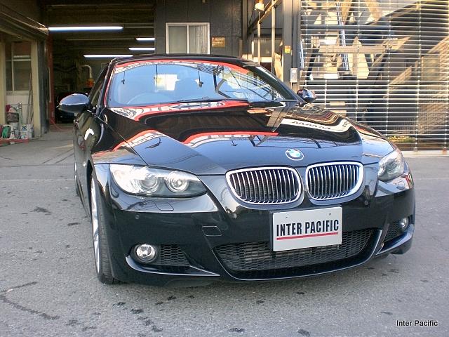 BMW335iカブリオレ 板金塗装