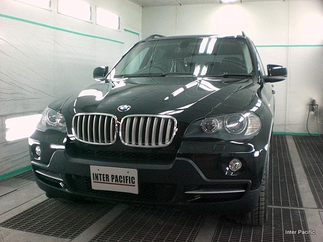 BMW X5 板金塗装、コーティング事例