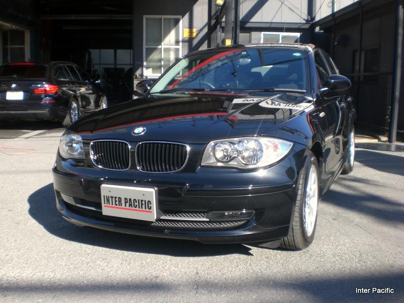 BMW 116i リアフェンダー板金塗装 修理事例
