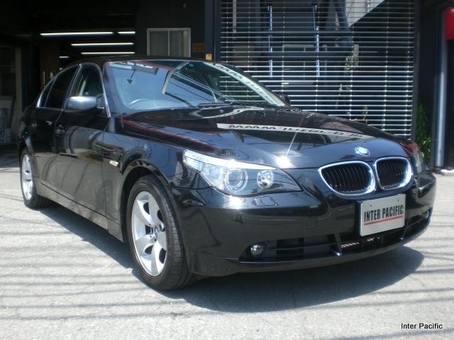 BMW 525i 車両保険を使った修理事例