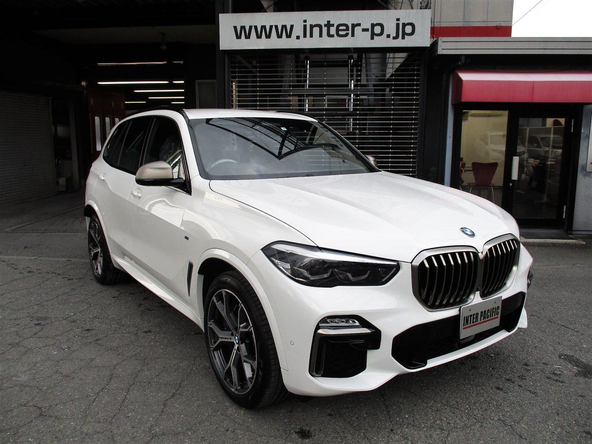 BMW X5(G05) 板金塗装 修理 事例